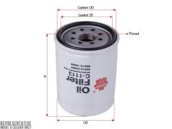 Фильтр масляный Sakura C1113
