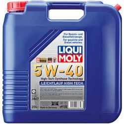 Моторное масло Liqui Moly Leichtlauf High Tech 5W-40 (20 л.) 3867