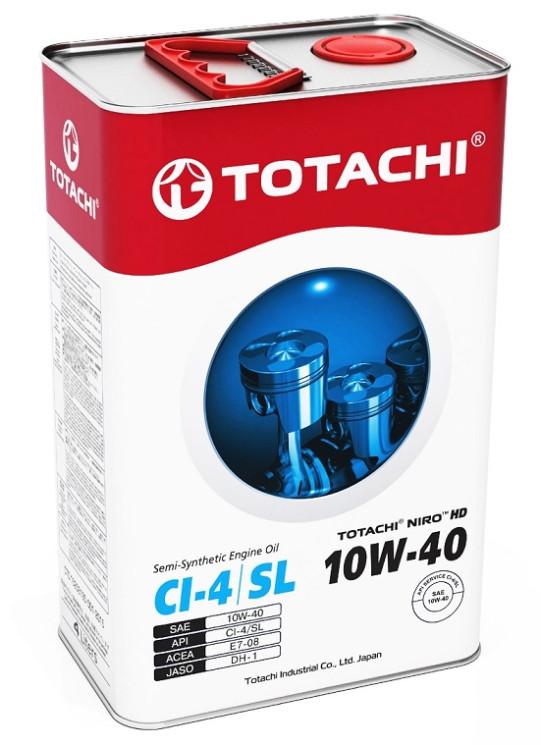 Моторное масло Totachi Niro HD Semi-Synthetic 10W-40 (4 л.) 4589904921971