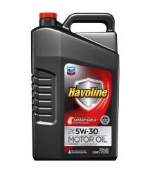 Моторное масло Chevron Havoline Motor Oil 5W-30 (4,73 л.) 223394485