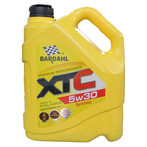 Моторное масло Bardahl XTC 5W-30 (5 л.) 36313