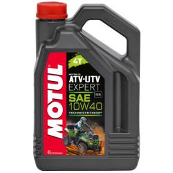 Масло четырехтактное Motul ATV-UTV Expert 10W-40 (4 л.) 105939