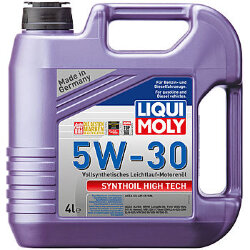 Моторное масло Liqui Moly SynthOil High Tech 5W-30 (4 л.) 9076