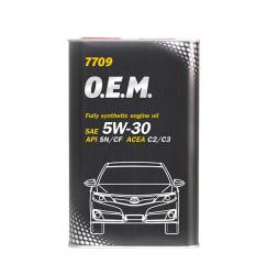 Моторное масло Mannol 7709 O.E.M. 5W-40 (1 л.) 4054