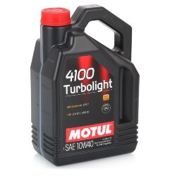 Моторное масло Motul 4100 Turbolight 10W-40 (4 л.) 100355