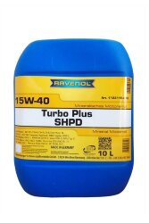 Моторное масло Ravenol Turbo Plus SHPD 15W-40 (10 л.) 1123115-010-01-999