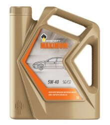 Моторное масло Rosneft Magnum Maximum 5W-40 (5 л.) 40816750
