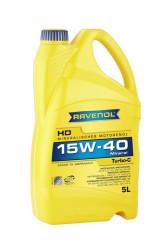 Моторное масло Ravenol Turbo-C HD-C 15W-40 (5 л.) 1113103005