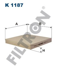 Фильтр салона Filtron K1187