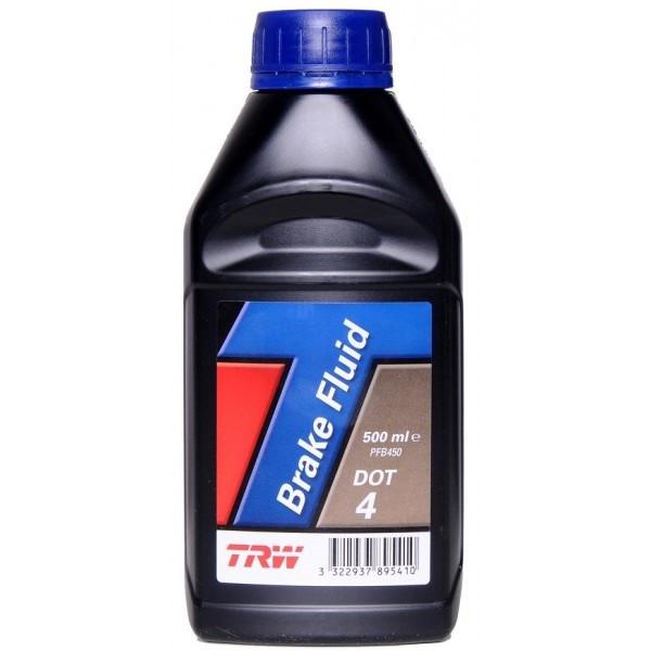Тормозная жидкость TRW DOT 4 (0,5 л.) PFB450