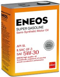 Моторное масло Eneos Super Gasoline SL 5W-30 (4 л.) Oil1361