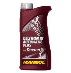 Трансмиссионное масло Mannol Dexron III Automatic Plus (1 л.) 1335