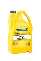 Моторное масло Ravenol Formel Diesel Super 15W-40 (5 л.) 1123215005