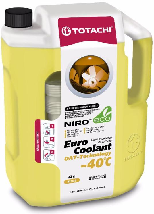 Охлаждающая жидкость Totachi Niro Euro Coolant OAT-Technology -40C (4 л.) 4562374692107