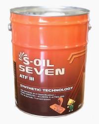 Трансмиссионное масло S-oil Seven ATF III (20 л.) E107992