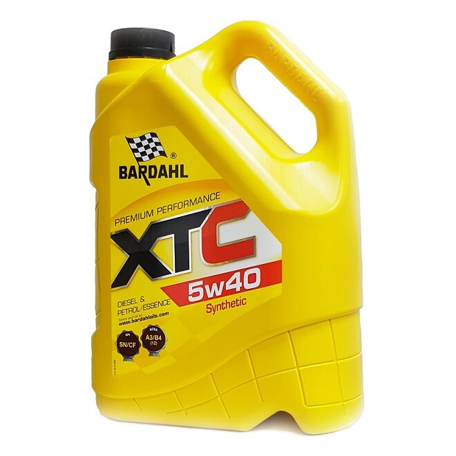 Моторное масло Bardahl XTC 5W-40 (5 л.) 36163
