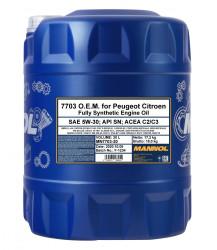 Моторное масло Mannol 7703 O.E.M. 5W-30 (20 л.) 1066