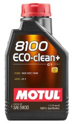 Моторное масло Motul 8100 Eco-Clean+ С1 5W-30 (1 л.) 101580