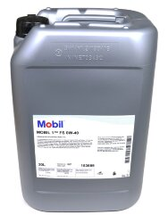 Моторное масло Mobil 1 FS 0W-40 (20 л.) 153689