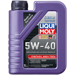 Моторное масло Liqui Moly SynthOil High Tech 5W-40 (1 л.) 1924