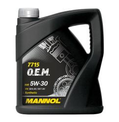 Моторное масло Mannol 7715 O.E.M. 5W-30 (5 л.) 7001