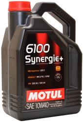 Моторное масло Motul 6100 Synergie + 10W-40 (4 л.) 101491