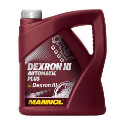 Трансмиссионное масло Mannol Dexron III Automatic Plus (4 л.) 1356