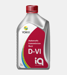 Трансмиссионное масло Yokki iQ ATF D-VI (1 л.) YCA12-1001P