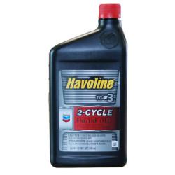 Масло двухтактное Chevron Havoline 2 Cycle Oil TC-W3 (1 л.) 023968464905