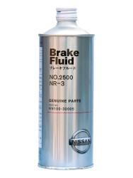 Тормозная жидкость Nissan Brake Fluid 2500 DOT 3 (0,5 л.) KN100-30005