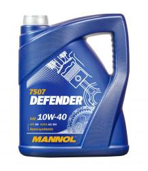 Моторное масло Mannol Defender 10W-40 (5 л.) 75075