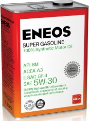 Моторное масло Eneos Super Gasoline SM 5W-30 (4 л.) Oil4070