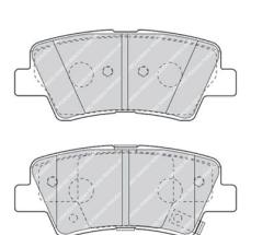 Тормозные колодки Ferodo FDB4387W