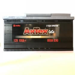 Аккумулятор АкТех Standart 100Ah 850A 353x175x190 о.п. (-+) ATST1003R