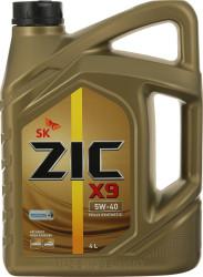 Моторное масло ZIC X9 5W-40 (4 л.) 162902