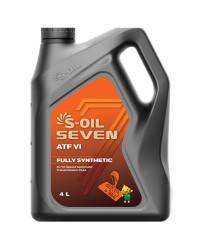 Трансмиссионное масло S-oil SEVEN ATF VI (4 л.) E107981