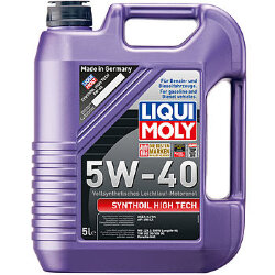 Моторное масло Liqui Moly SynthOil High Tech 5W-40 (5 л.) 1925