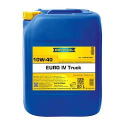 Моторное масло Ravenol Euro IV Truck 10W-40 (20 л.) 1122107-020-01-999