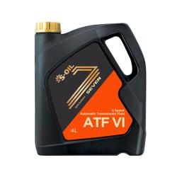 Трансмиссионное масло S-oil SEVEN ATF VI (4 л.) ATFVI_04