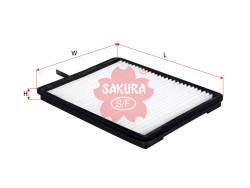 Фильтр салона Sakura CA1804