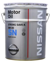 Моторное масло Nissan SN Strong Save X 5W-30 (20 л.) KLAN3-05302