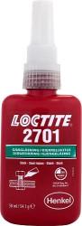 Loctite 2701 Фиксатор резьбовой высокой прочности (пузырек) (0,05 л.) 1516481