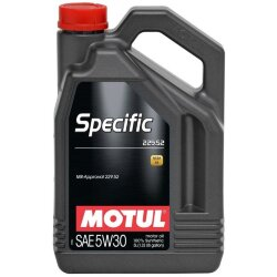 Моторное масло Motul Specific MB 229.52 5W-30 (5 л.) 104845