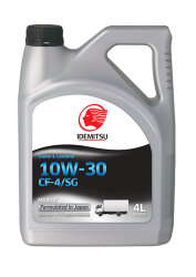 Моторное масло Idemitsu Diesel 10W-30 CF4/SG (4 л.) 30175014-746