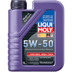 Моторное масло Liqui Moly SynthOil High Tech 5W-50 (1 л.) 9066