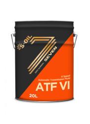 Трансмиссионное масло S-oil SEVEN ATF VI (20 л.) ATFVI_20