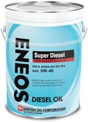 Моторное масло Eneos Super Diesel 5W-40 CH-4 (20 л.) Oil1337
