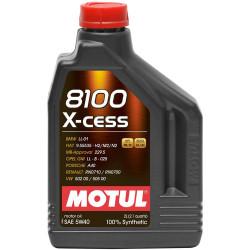 Моторное масло Motul 8100 X-Cess 5W-40 (2 л.) 102869