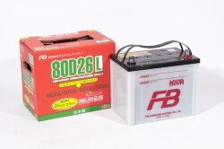 Аккумулятор Furukawa Battery Super Nova 68Ah 700A 257x170x225 о.п. (-+) 80D26L
