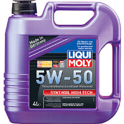 Моторное масло Liqui Moly SynthOil High Tech 5W-50 (4 л.) 9067
